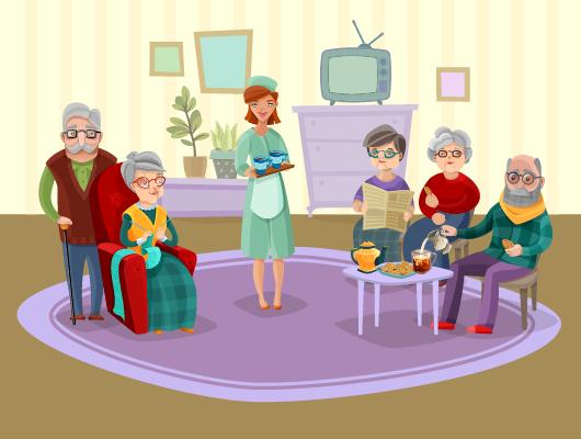 Old-Aged Homes Elderly Medical Care